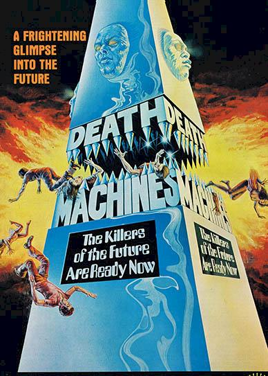 Death Machines (1976) cover
