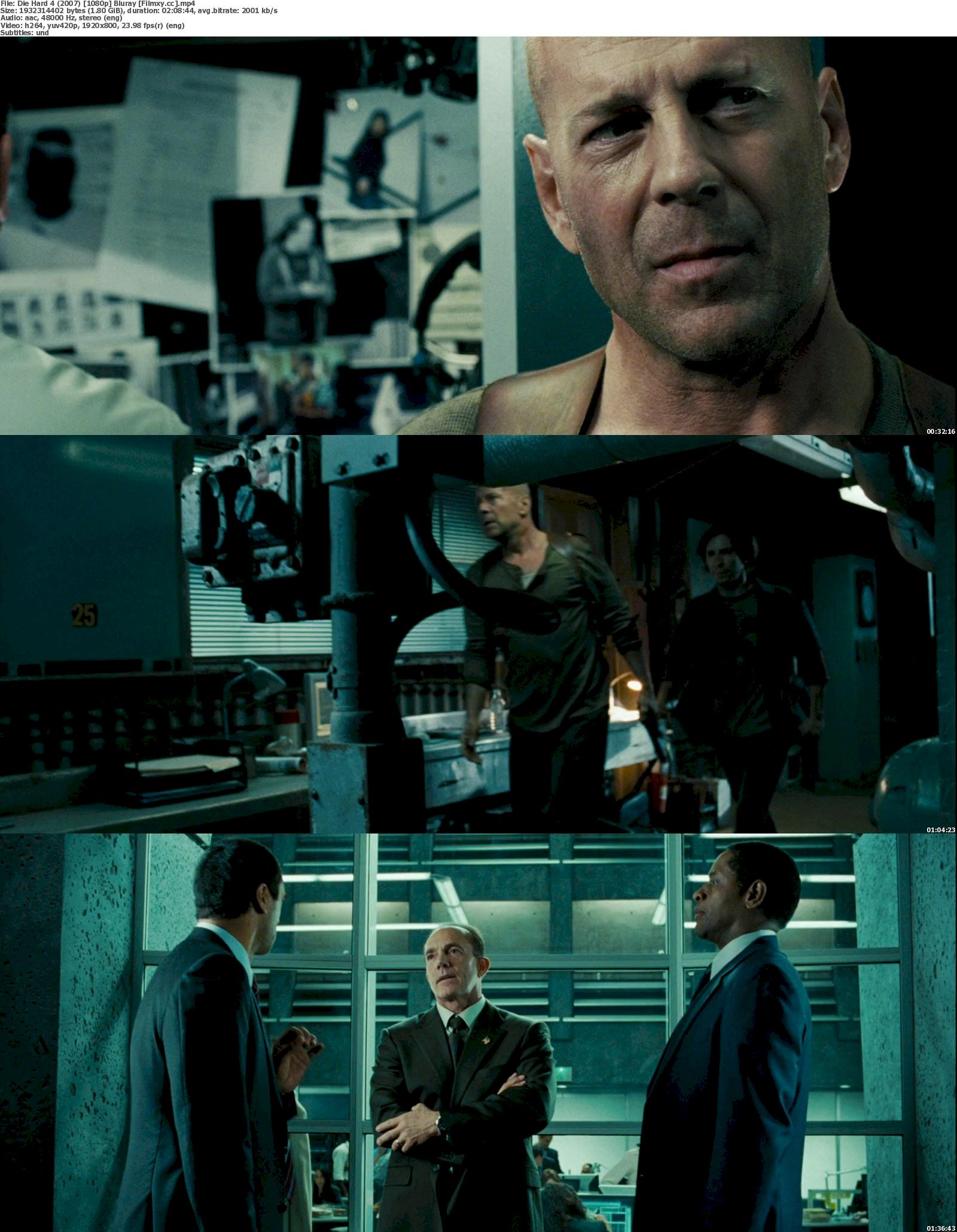 Die Hard 4 (2007) 720p & 1080p Bluray Free Download 1080p Screenshot