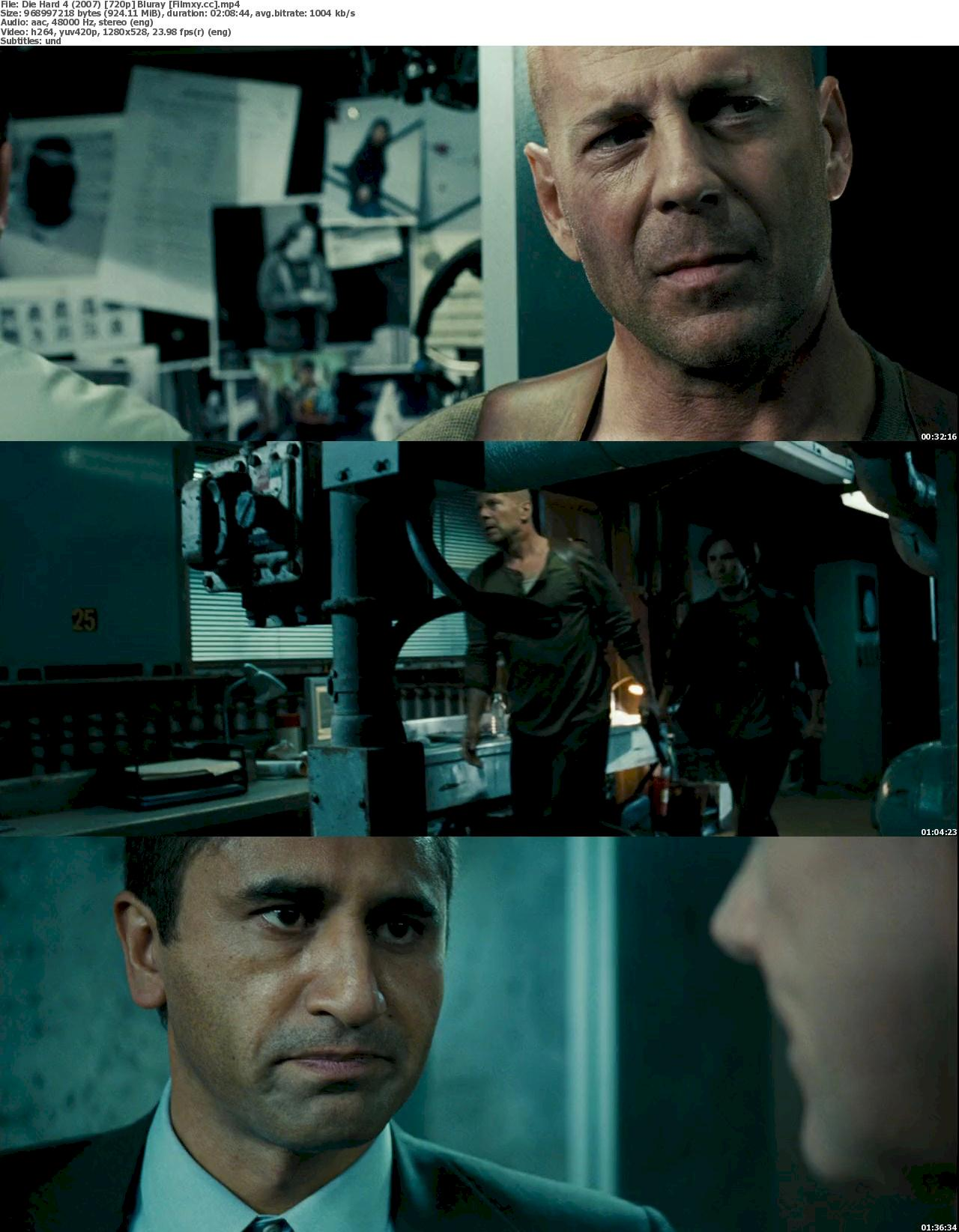 Die Hard 4 (2007) 720p & 1080p Bluray Free Download 720p Screenshot