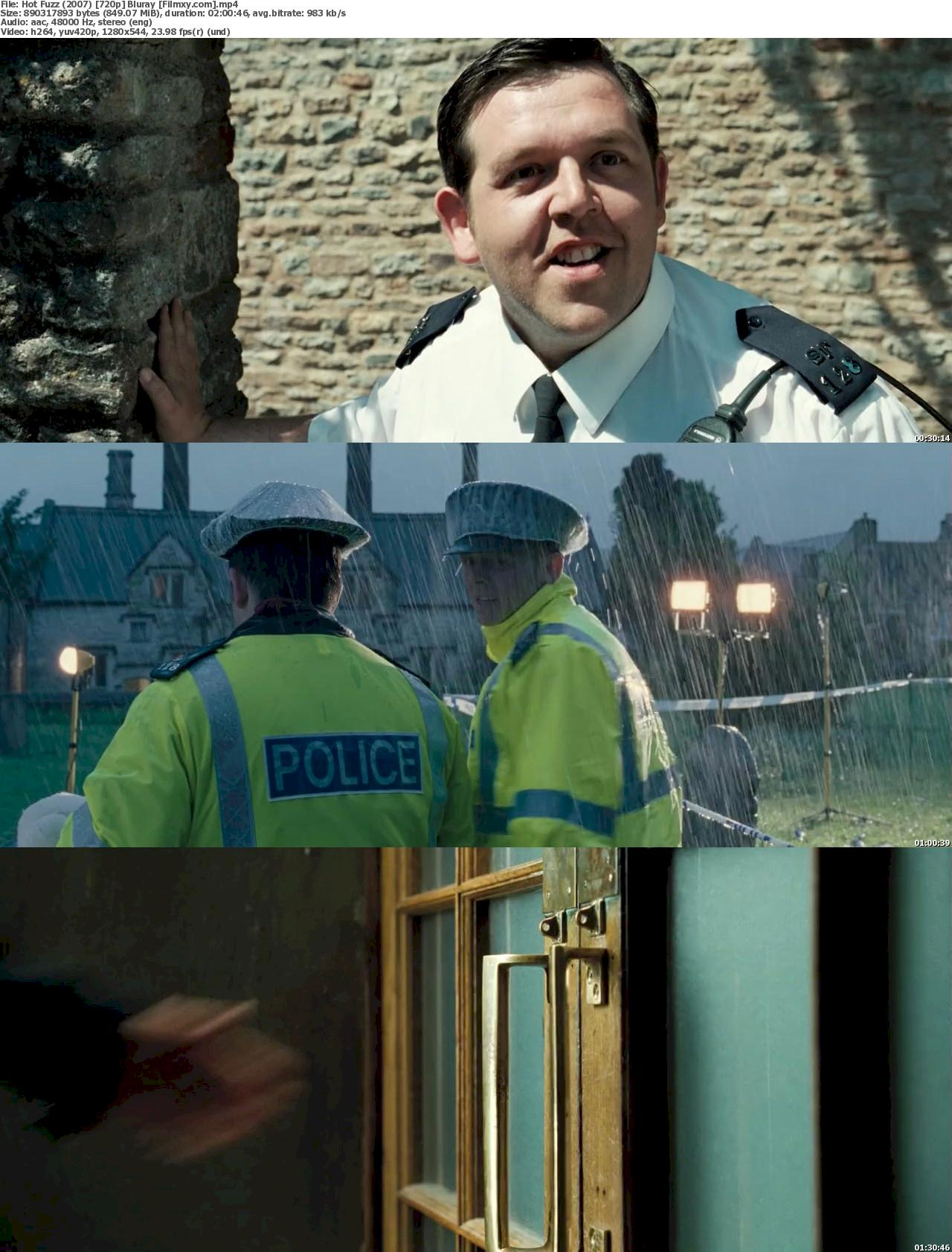 Hot Fuzz (2007) 720p & 1080p Bluray Free Download 720p Screenshot