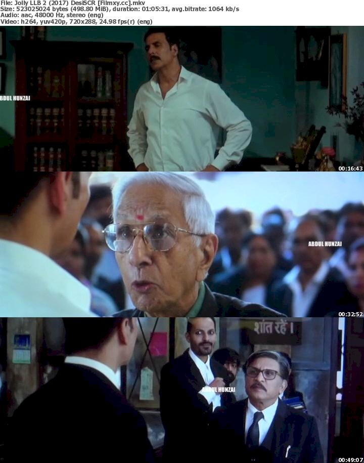 Jolly LLB 2 (2017) DesiSCR Free Download 480p Screenshot