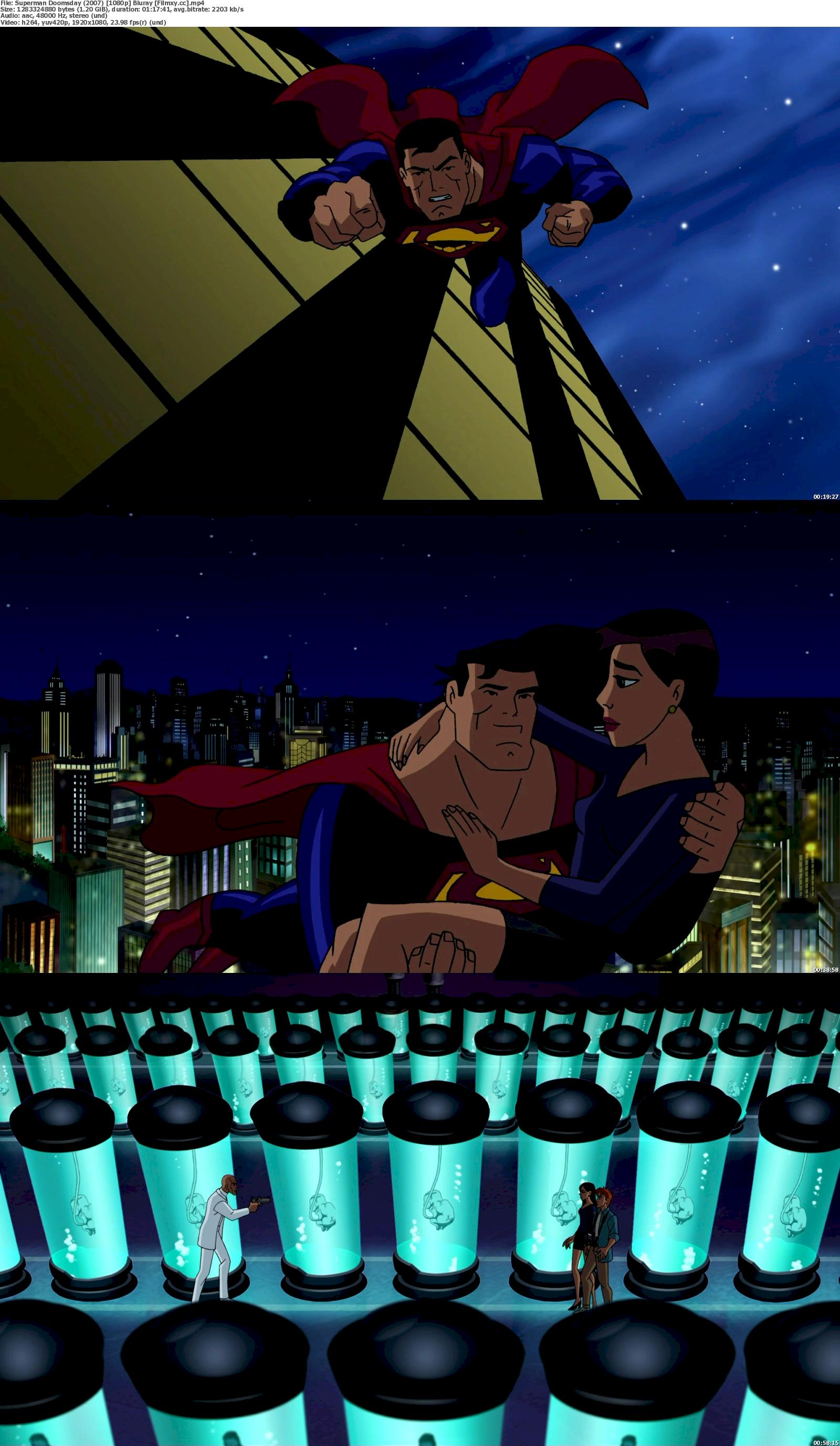 Superman/Doomsday (2007) 720p & 1080p Bluray Free Download 1080p Screenshot
