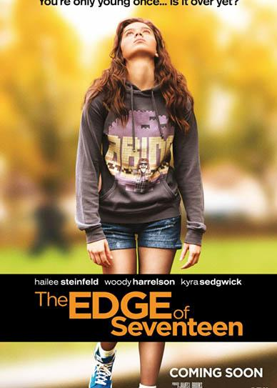 The Edge Of Seventeen (2016) cover