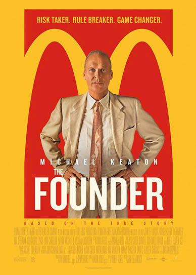 The Founder (2016) cover