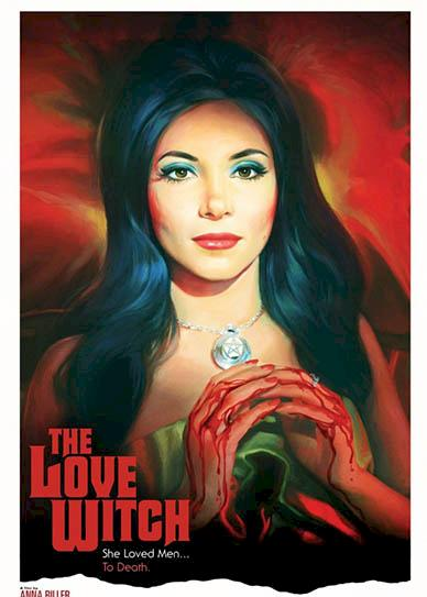 The Love Witch (2016 cover