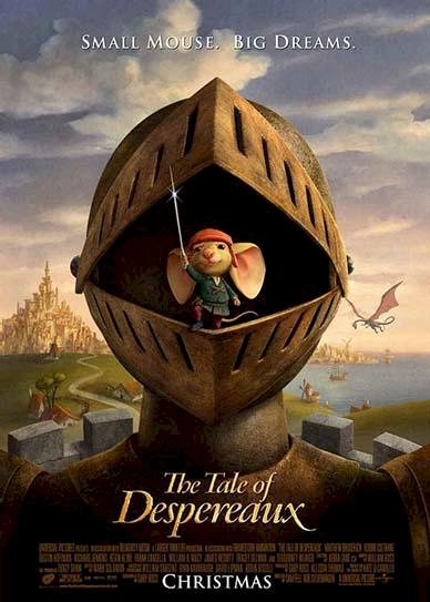 The Tale of Despereaux (2008) cover