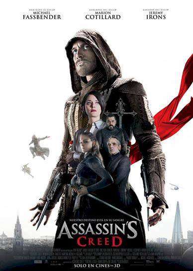 Assassin's Creed (2016) cover