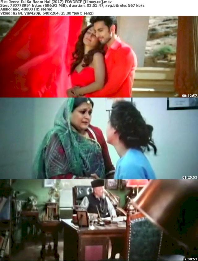 Jeena Isi Ka Naam Hai (2017) PDvDRip Free Download 480p Screenshot