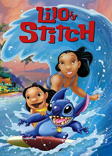 Lilo and Stitch (2002) cover