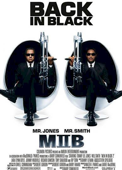 Men In Black II (2002 cover