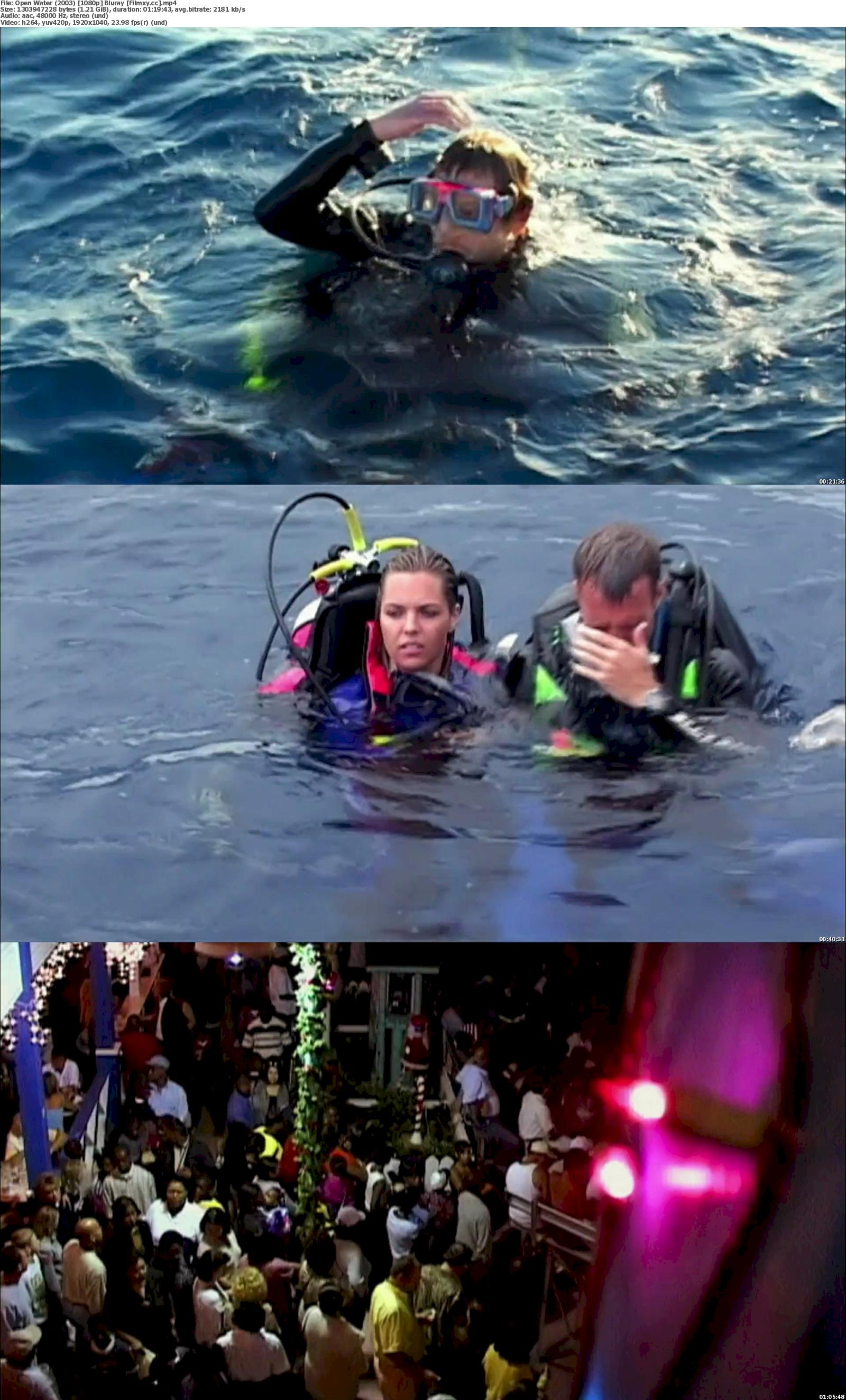 Open Water (2003) 720p & 1080p Bluray Free Download 1080p Screenshot