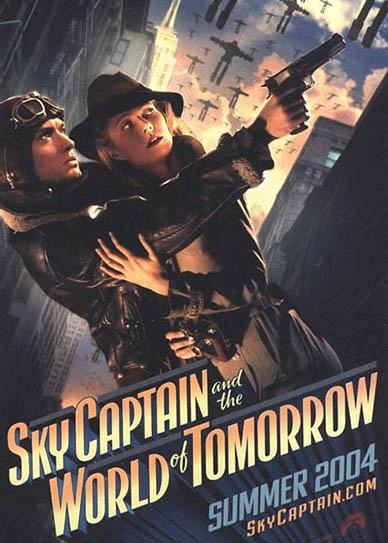 Sky Captain and the World of Tomarrow (2004) cover