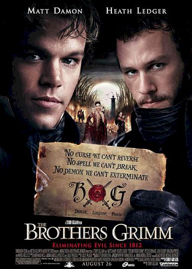 The Brothers Grimm ( 2005) cover