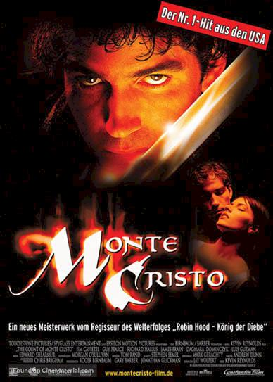 The Count Of Monte Cristo (2002) cover