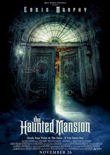 The Haunted Mansion (2003) cover