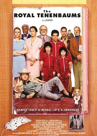 The Royal Tenenbaums (2001) cover