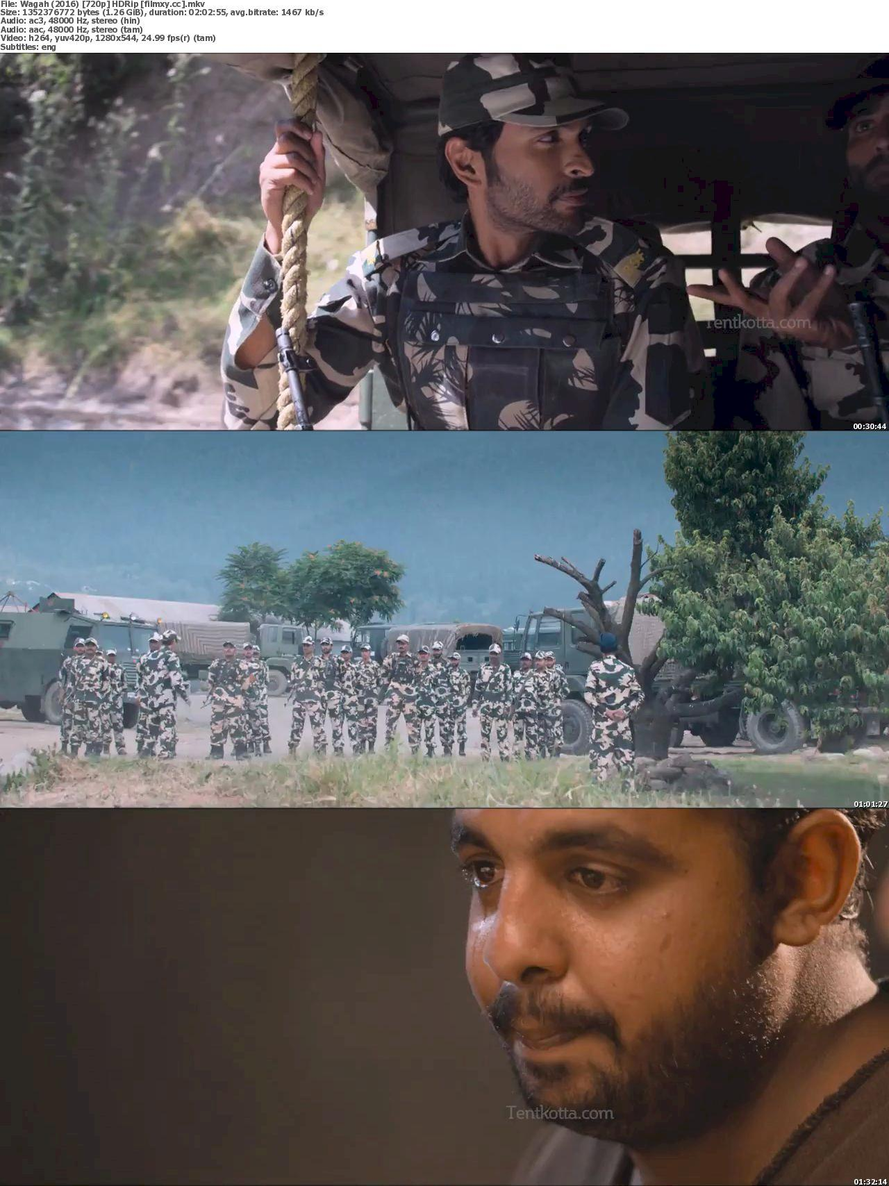 Wagah (2016) 720p HDRip Free Download 720p Screenshot
