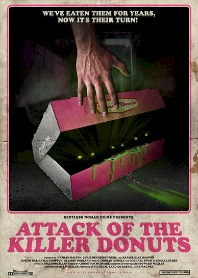 Attack of the Killer Donuts (2016)
