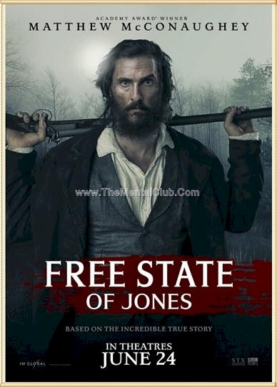 Free State of Jones (2016) cover