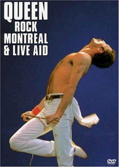 Queen Rock Montreal & Live Aid (2007) cover