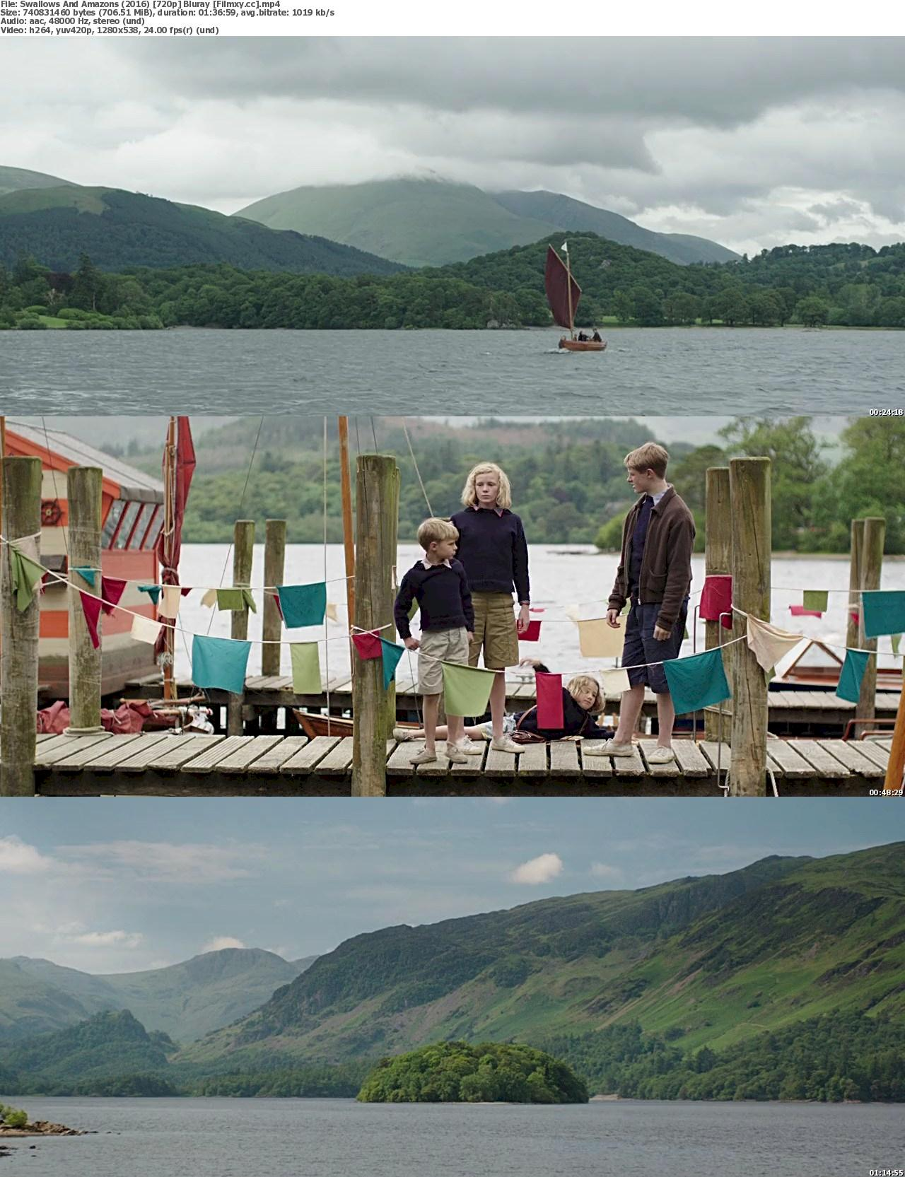 Swallows and Amazons (2016) 720p & 1080p  Bluray Free Download 720p Screenshot