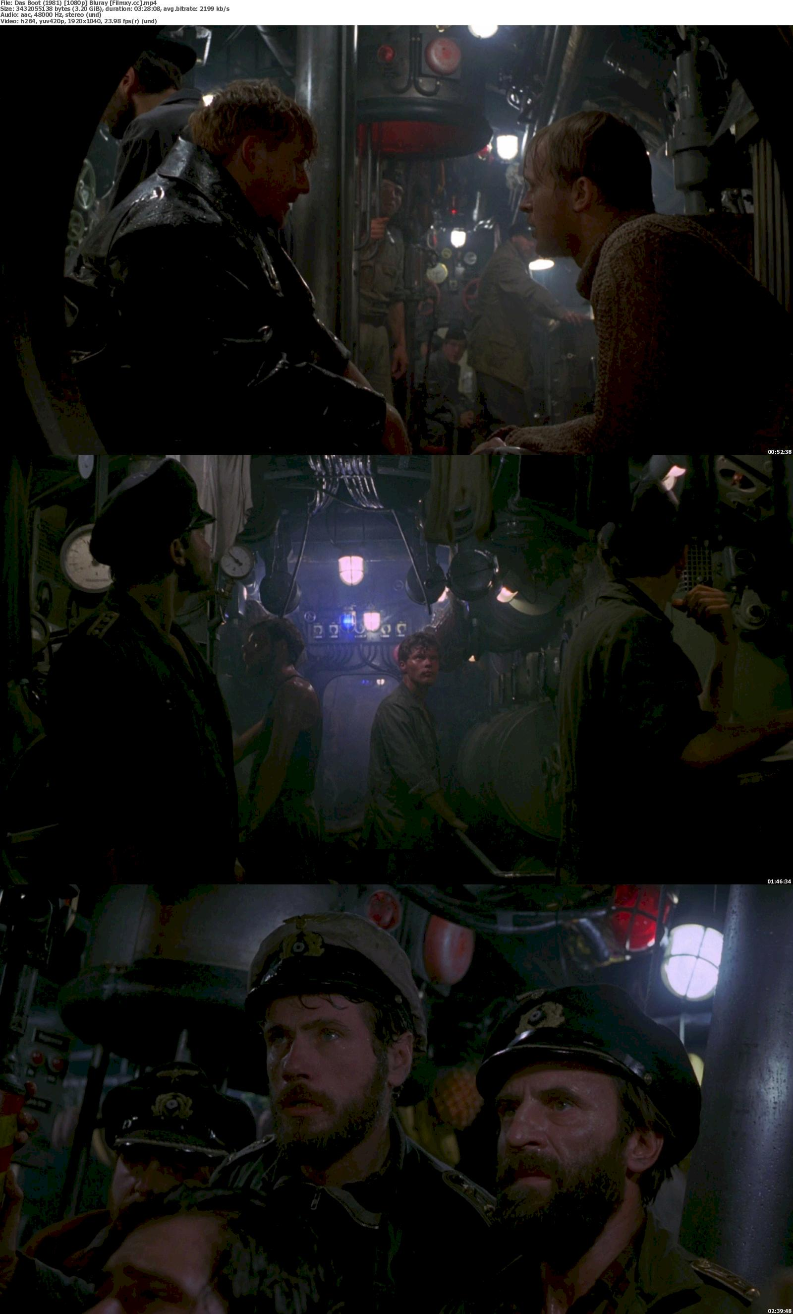 Das Boot (1981) 720p & 1080p Bluray Free Download 1080p Screenshot