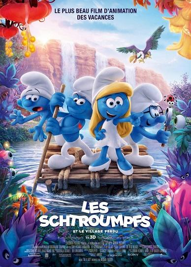 Smurfs The Lost Village (2017) cover