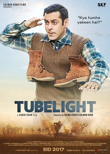Tubelight (2017) cover