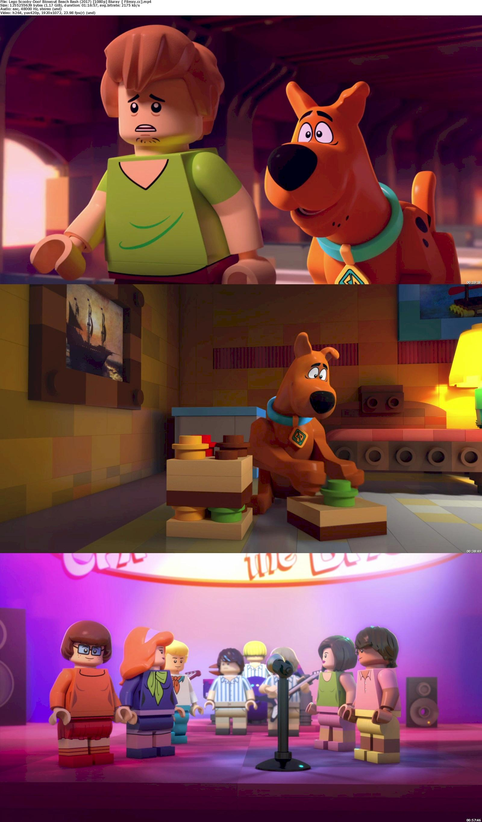 Lego Scooby-Doo! Blowout Beach Bash (2017) 720p & 1080p Bluray Free Download 1080p Screenshot