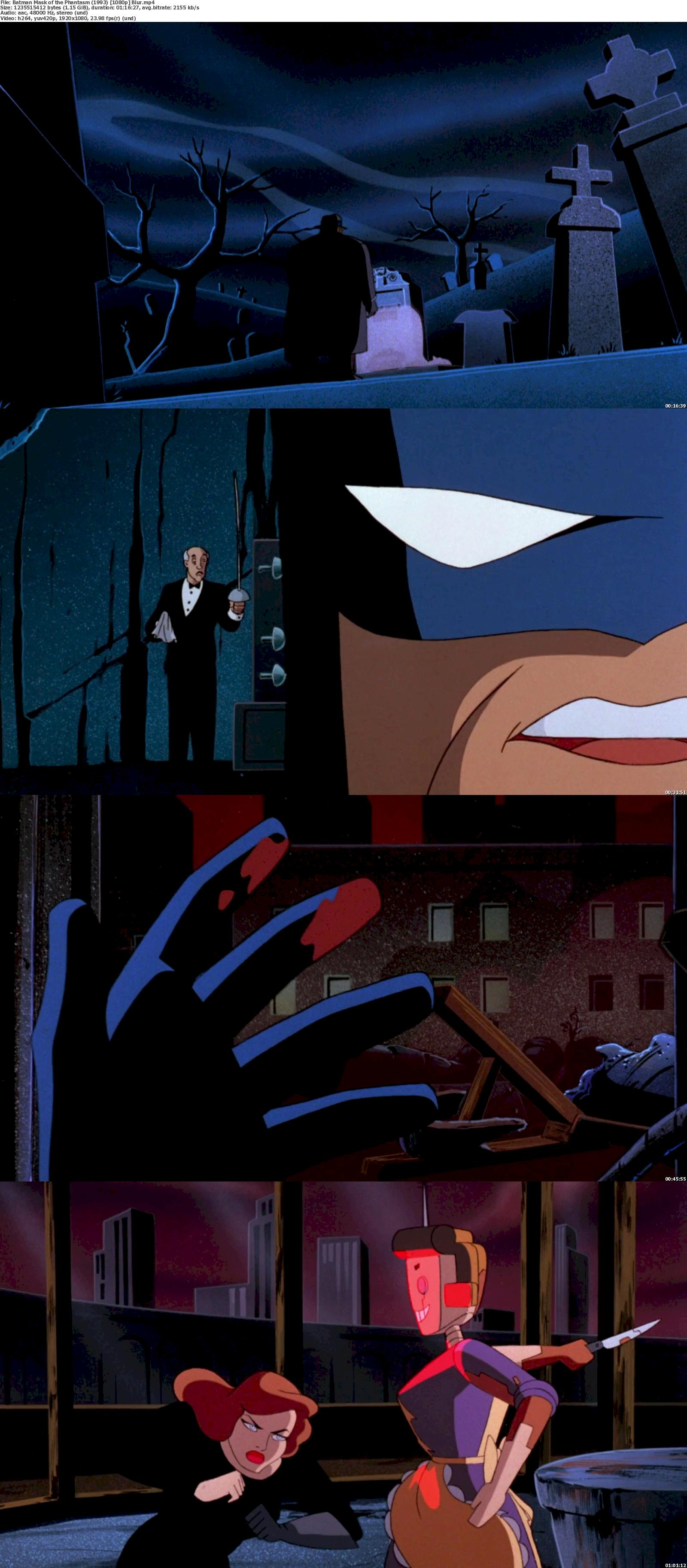 Batman: Mask of the Phantasm (1993) 720p & 1080p Bluray Free Download 1080p Screenshot