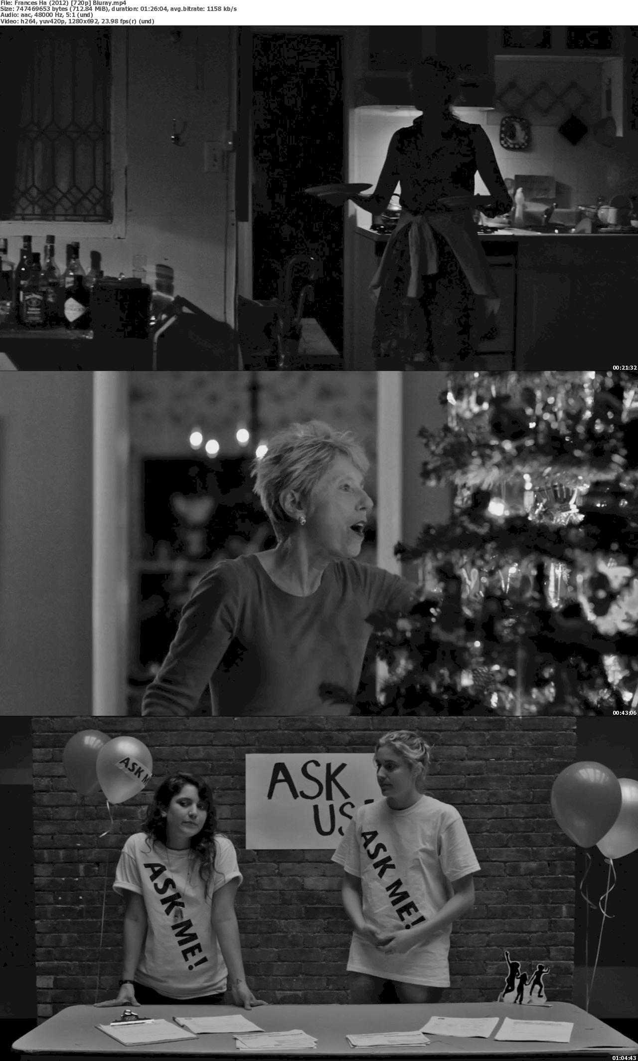 Frances Ha (2012) 720p & 1080p Bluray Free Download 1080p Screenshot