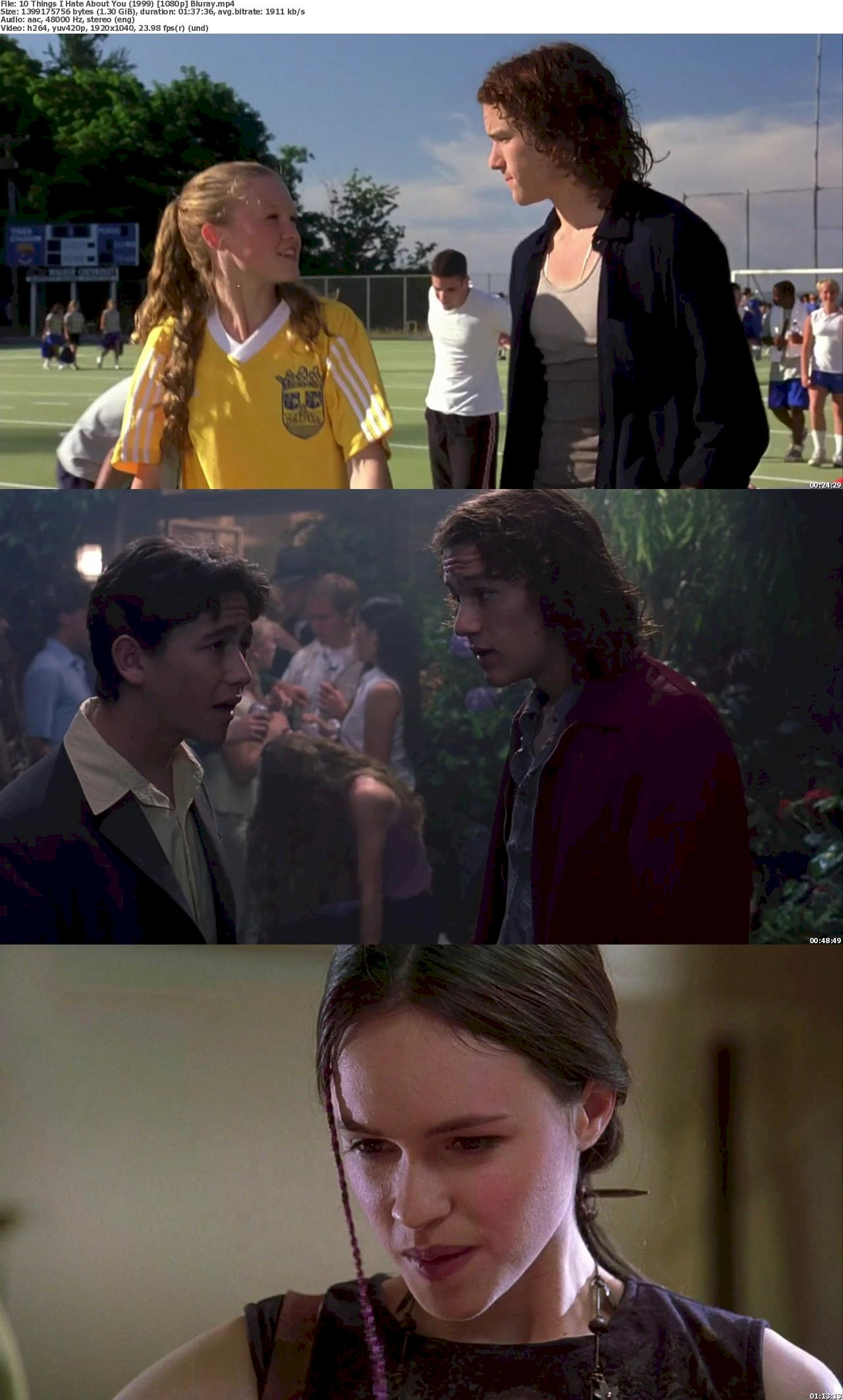 10 Things I Hate About You (1999) 1080p Bluray Free Download 1080p Screenshot
