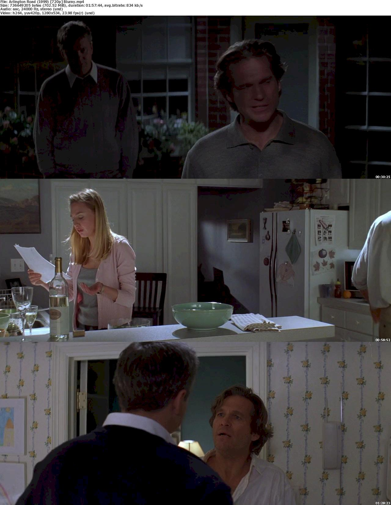 Arlington Road (1999) 720p Bluray Free Download 720p Screenshot