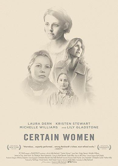 Certain Women (2016) cover