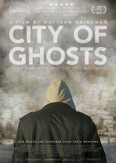 City of Ghosts (2017) cover