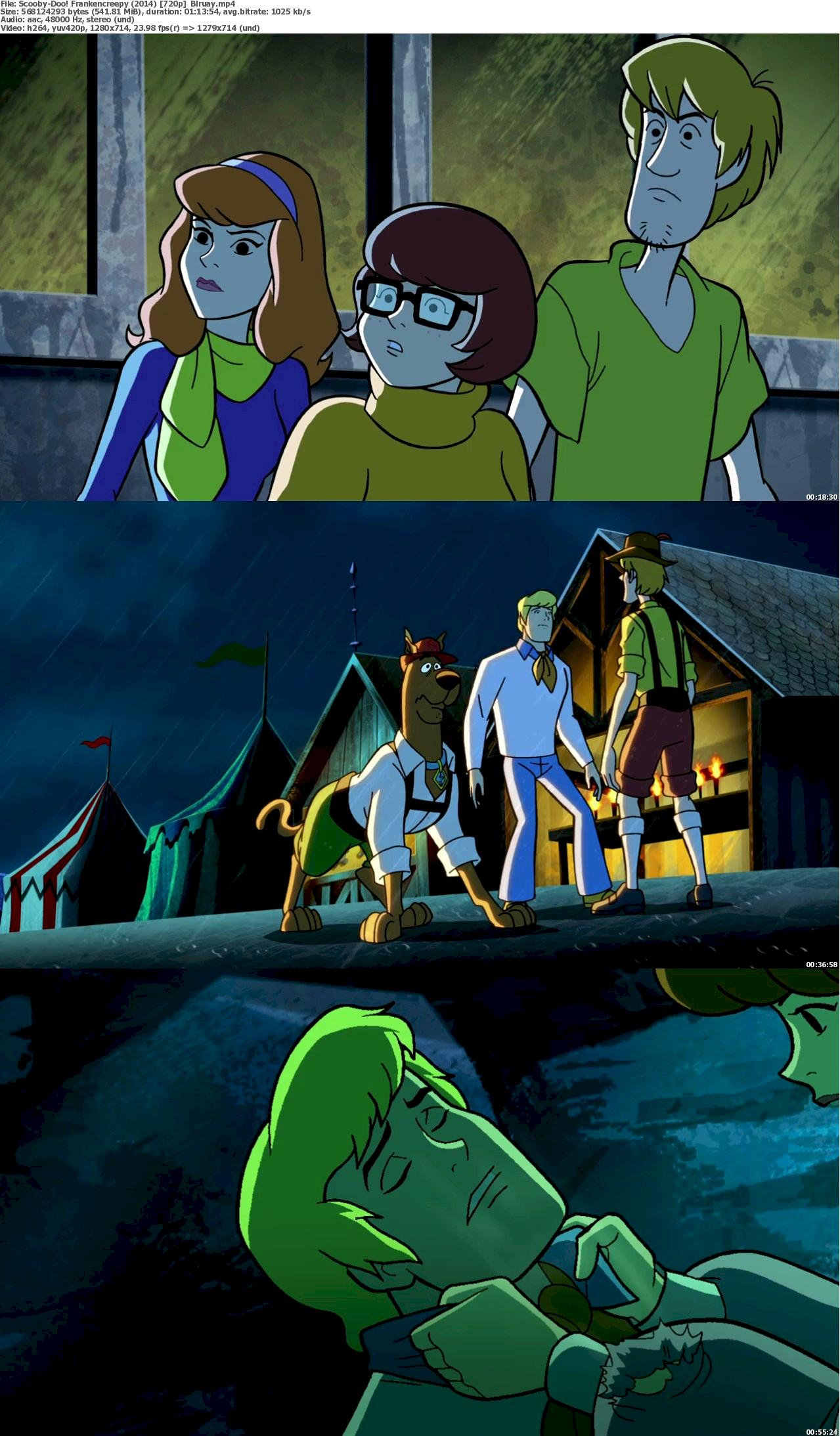 Scooby-Doo! Frankencreepy (2014) 720p & 1080p Bluray Free Download 720p Screenshot