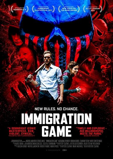 Immigration Game (2017) cvr