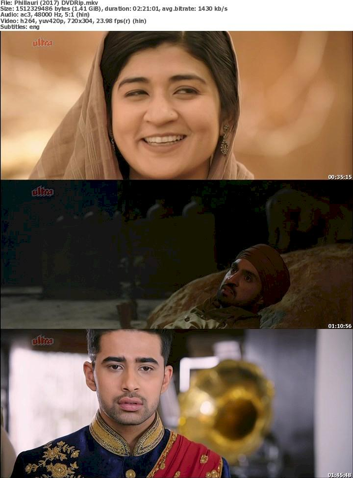 Phillauri (2017) DVDRip Free Download 480p Screenshot