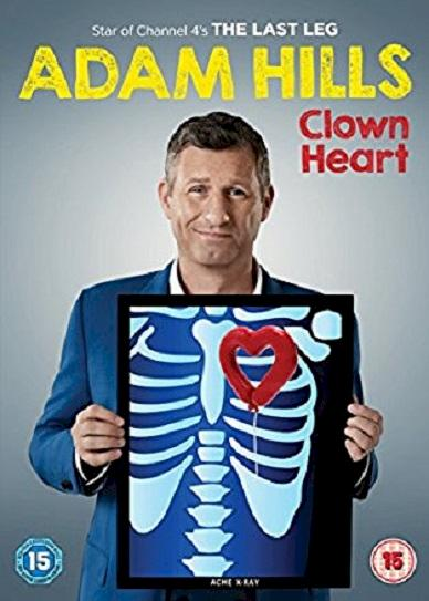 Adam Hills - Clown Heart - Live (2017) cvr