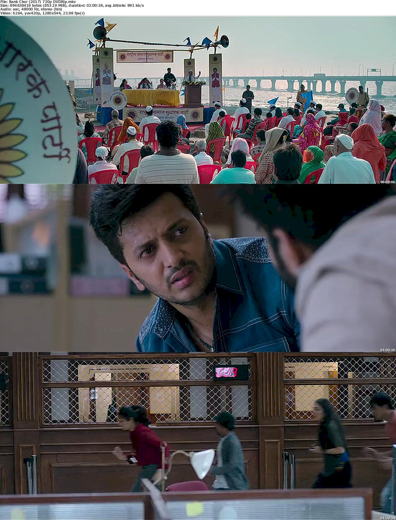 Bank Chor (2017) 720p DVDRip Free Download 720p Screenshot