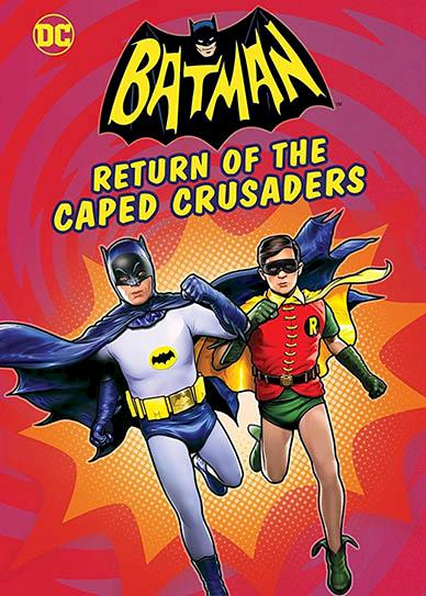 Batman: Return of the Caped Crusaders Cover