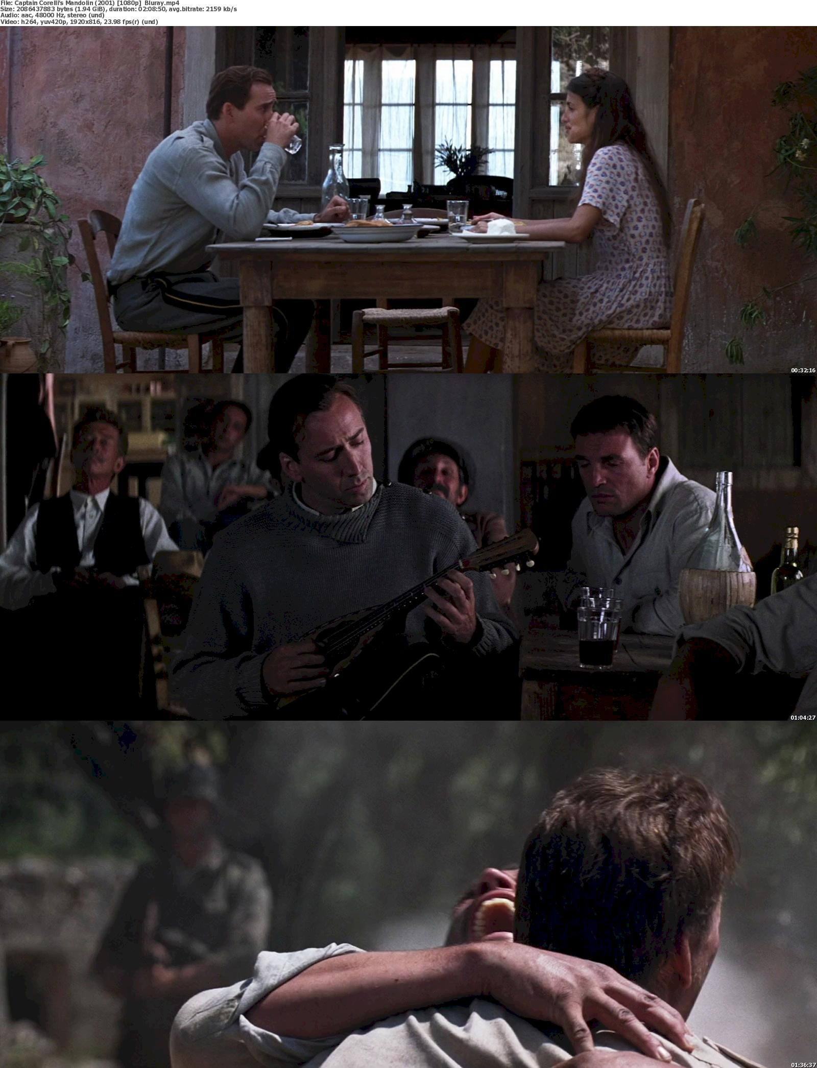 Captain Corelli's Mandolin (2001) 720p & 1080p Bluray Free Download 1080p Screenshot