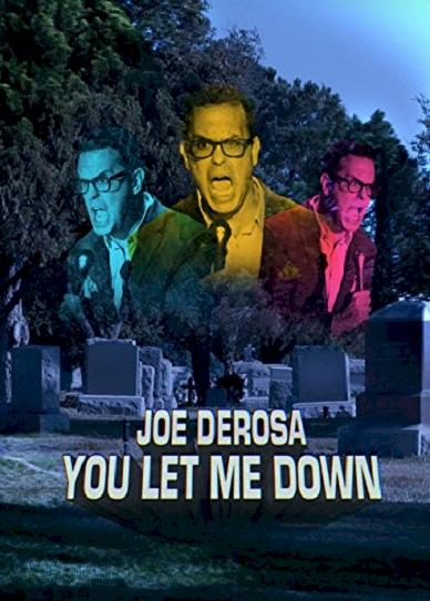 Joe Derosa You Let Me Down (2017) cvr