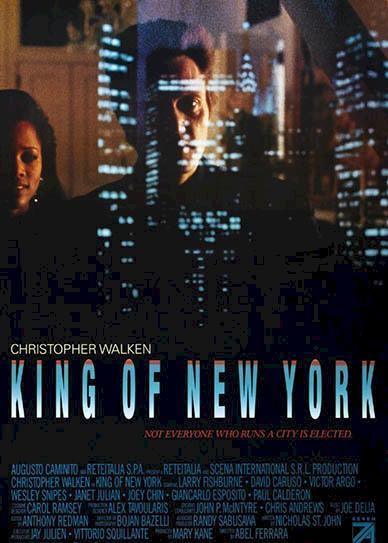 King of New York (1990) cover