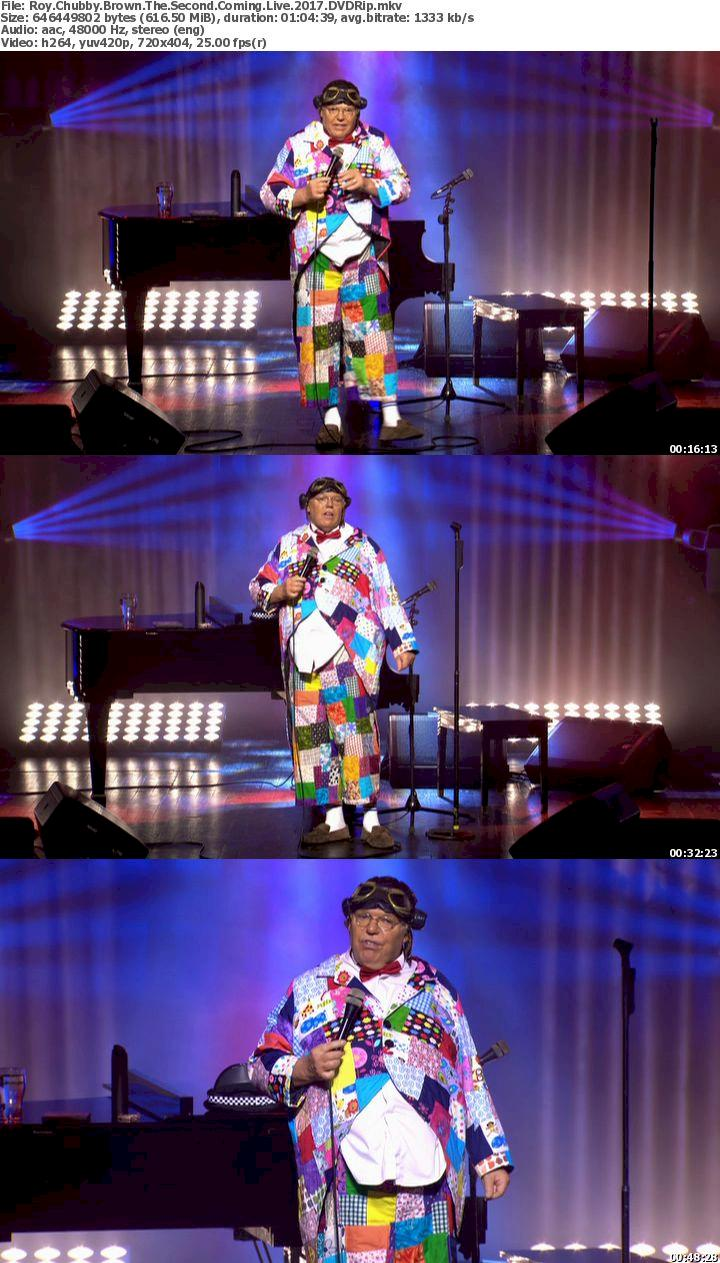 Roy Chubby Brown: The Second Coming (2017) DVDRip Free Download 720p Screenshot