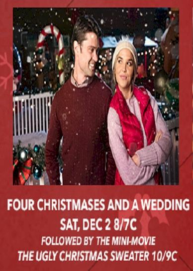 Four Christmases and a Wedding (2017) cvr