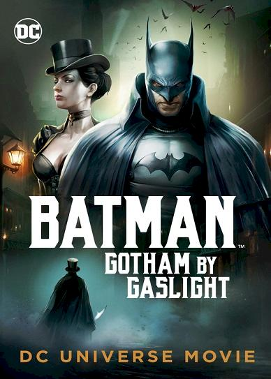 Batman- Gotham by Gaslight (2018) cover