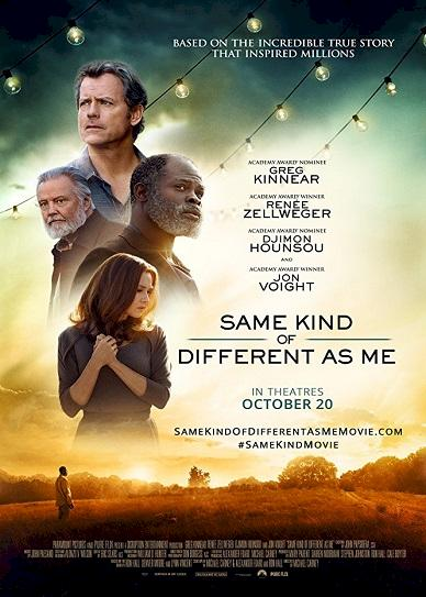 Same Kind of Different as Me (2017) cvr