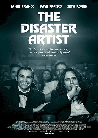The Disaster Artist (2017) cvr