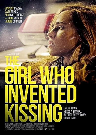 The Girl Who Invented Kissing (2017) cvr